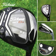 Titleist 917D3 driver, irons and Scotty Cameron putter