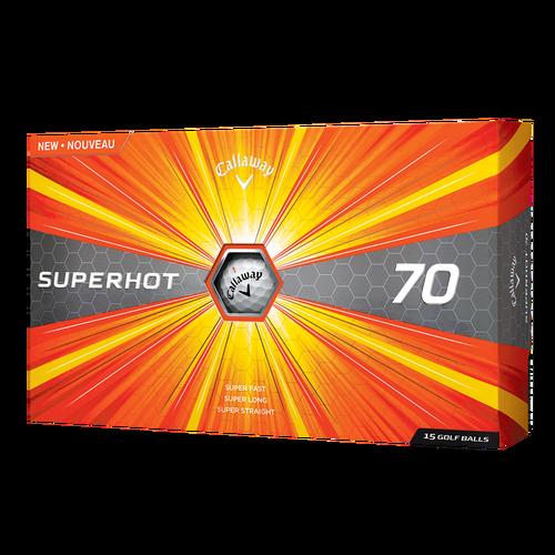 Callaway superhot golf balls