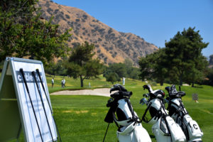 Clublender bags at golf event