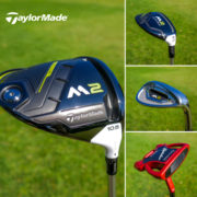 TaylorMade M2 driver, hybrid, irons and Spider putter