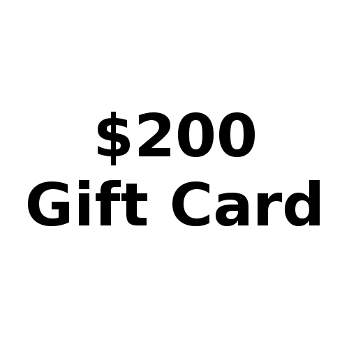 Button for $200 gift card