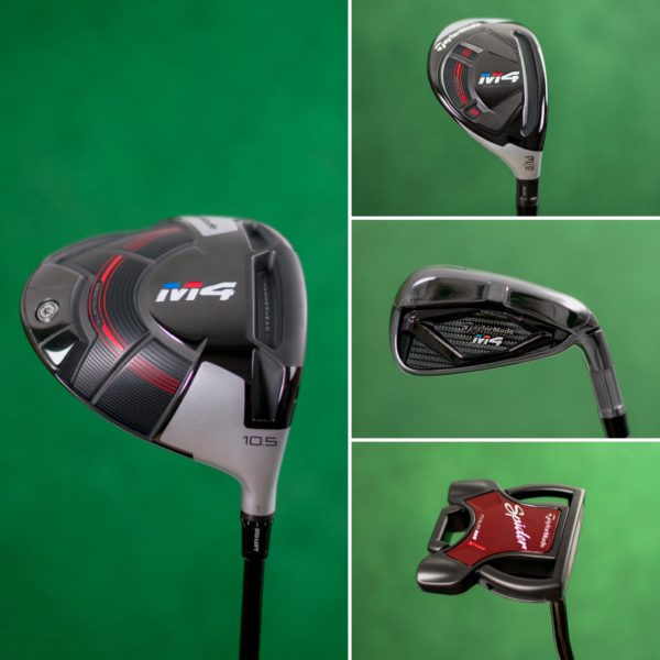 TaylorMade M4 golf clubs for rent