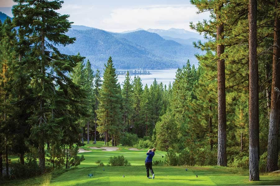 Incline Village Championship Golf Course, Lake Tahoe, Nevada