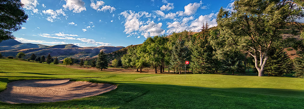 Mountain Dell golf course, Salt Lake City, Utah